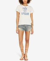 Denim & Supply Ralph Lauren Peace & Love Graphic T-Shirt