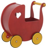 The Well Appointed House Haba MOOVER Doll Pram in Red for Kids