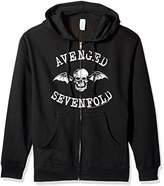 FEA Men's Avenged Sevenfold Death Bat Zip Hoodie