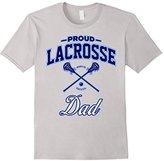 Mens Proud Lacrosse Dad T-Shirt