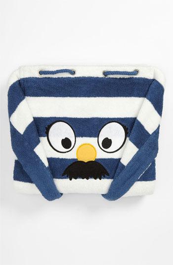Stella McCartney Stripe Towel & Bag (Kids) Blue/ White One Size
