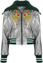 Aviu sailor collar metallic bomber