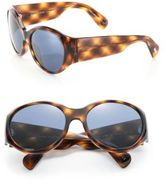 OLIVER PEOPLES THE ROW The Row For Oliver Peoples Don't Bother Me 59MM Oversized Round Sunglasses