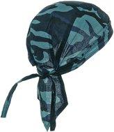 Buy Caps and Hats Sky Blue Camouflage Doo Rag Skull Cap Camo Durag Bandana Head Wrap
