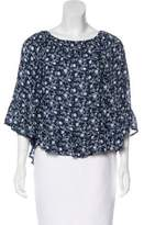 Denim & Supply Ralph Lauren Floral Bell Sleeve Blouse