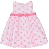 Florence Eiseman Sleeveless Tulle Rosette Dress, Pink, Size 2T-4T