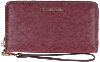 Michael Kors Wristlets Grain Leather Wallet