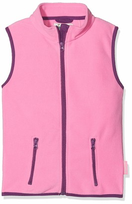 Playshoes Girl's Kids Sleeveless Full Zip Fleece Vest Gilet