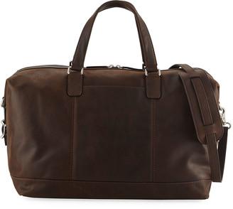 Frye Men's Oliver Leather Overnight Bag