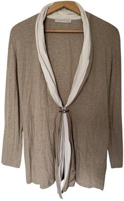 Fabiana Filippi Beige Cotton Knitwear for Women