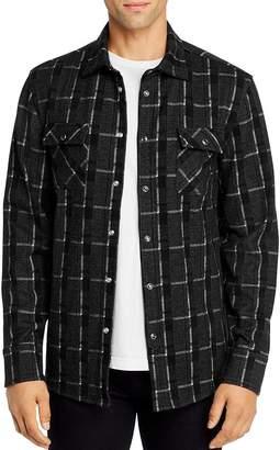 Karl Lagerfeld Paris Window Pane Regular Fit Shirt
