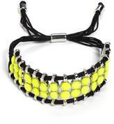 Catherine Stein Neon Slide Bracelet