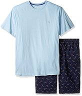 Tommy Bahama Men's Tall Size Woven Jam Knit Tee Set