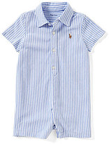 Ralph Lauren Baby Boys 3-12 Months Striped Oxford Shortall