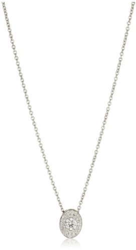 "Ivanka Trump Signature Bridal"" Oval Diamond Necklace"