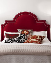 Massoud Sonia King Velvet Headboard