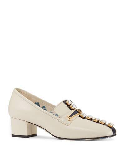 94c9f4a31c2 White Gucci Loafers - ShopStyle