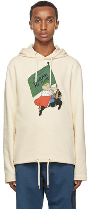 Lanvin Off-White Babar Edition Printed Hoodie