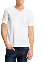 Kenneth Cole New York Acid Washed Pocket T-Shirt