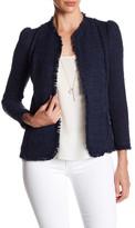 Rebecca Taylor Fringe Trim Jacket