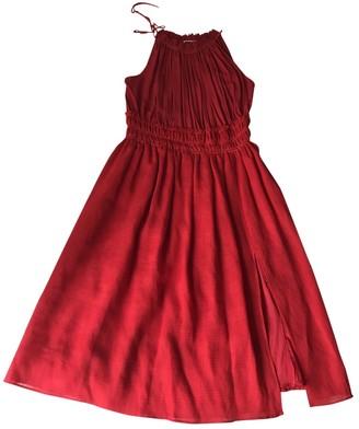 Altuzarra Red Linen Dresses
