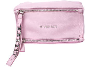 Givenchy Pink Leather Pandora Wristlet Pouch
