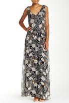 Ella Moss Silk Double-V Maxi Dress