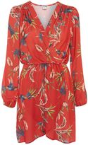 Love **Printed Wrap Dress