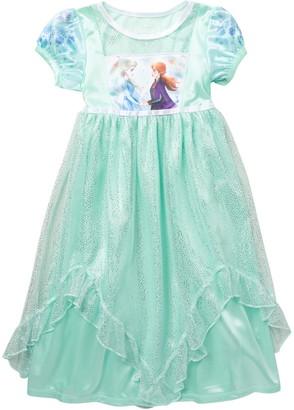 AME Frozen II Anna & Elsa Sparkly Nightgown