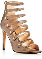 Vince Camuto Kanastas Metallic Caged High Heel Sandals