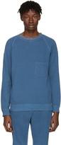 Blue Blue Japan Indigo Pocket Pullover