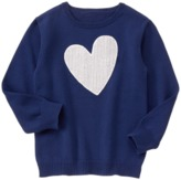 Crazy 8 Sparkle Heart Sweater