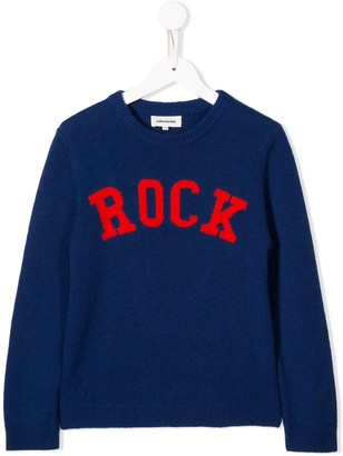 Zadig & Voltaire Kids Chris knit sweater
