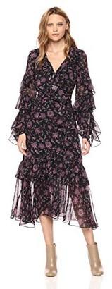 AMUR Women's Rumi Wrap Dress