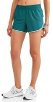 Athletic Works Women's Active Woven Running Shorts with Built-in Liner