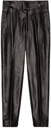Fear of God Exclusively for Ermenegildo Zegna Single Pleat Calf Pant in Black | FWRD
