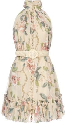 Zimmermann Kirra Short Halter Dress