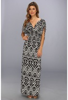 T-Bags LosAngeles Tbags Los Angeles Empire Smocked Waist Maxi Dress
