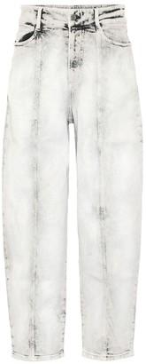 Stella McCartney Wide-leg stretch-denim jeans