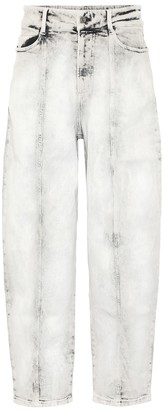 Stella McCartney Wide-leg stretch-denim jeans