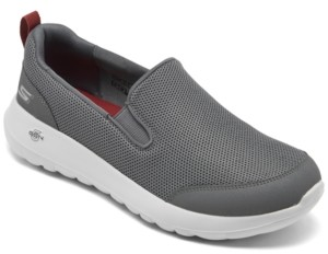 Skechers Men's GOwalk Max - Clinched Slip-On Casual Sneakers from Finish Line