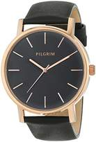 Pilgrim Women's Quartz Watch with Leather 701444103