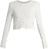 A.L.C. Talia long-sleeved lace top