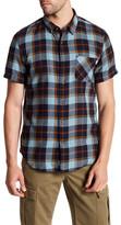 Timberland Sugar River Plaid Short Sleeve Slim Fit Shirt