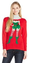 Isabella's Closet Women's Sexy Elf Ugly Christmas Sweater