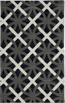 Karastan Panache Chain Letter Bungee Cord Rug (56 X 83)