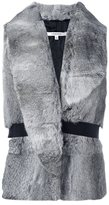 Carven rabbit fur gilet - women - Polyester/Rabbit Fur - 38