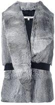 Carven rabbit fur gilet - women - Rabbit Fur/Polyester - 38