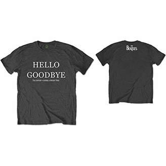 The Beatles Men's Hello, Goodbye (Back Print) T-Shirt,Xx-Large