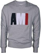 Ami Alexandre Mattiussi Ami Embroidered Sweatshirt